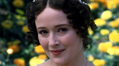 Jennifer Ehle is beautiful as Elizabeth  in the 1995 series [Image courtesy BBC Home.]