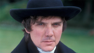 David Bamber is Mr. Collins  in the 1995 series [Image courtesy BBC Home.]