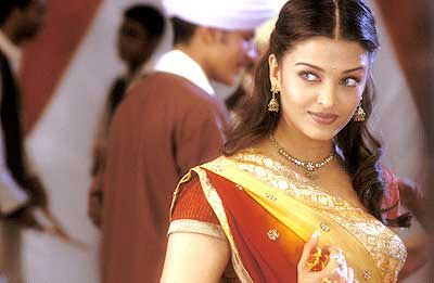 Aishwarya Rai Bachchan in 2005's Bride and Prejudice.