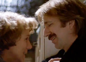 Stevenson and Rickman as Nina and Jamie in Truly Madly Deeply [Image courtesy: MGM]